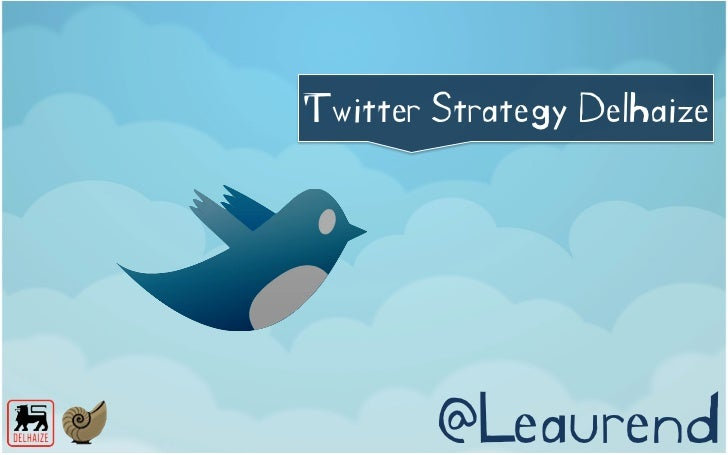 Twitter Strategy Delhaize, Marketing Genius 2012