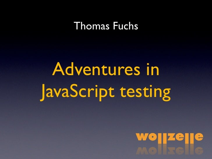 Thomas Fuchs Presentation