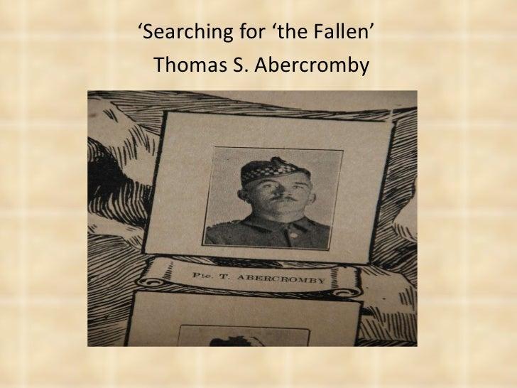 Thomas Abercromby