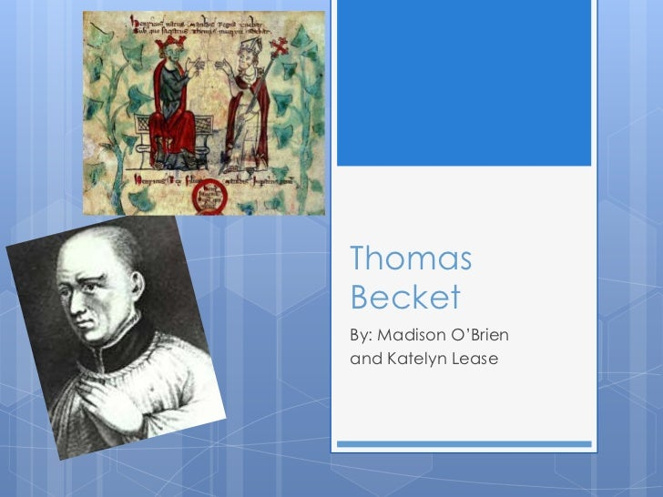 Thomas becket o'brien and lease 1st