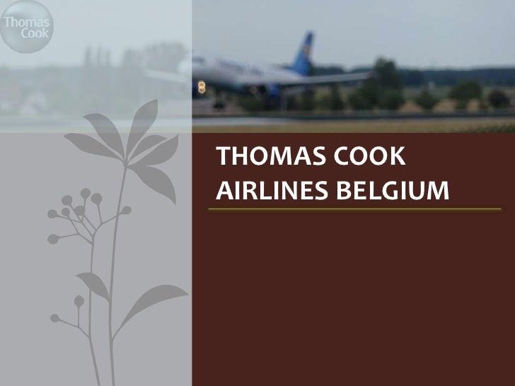 THOMAS COOKAIRLINES BELGIUM
