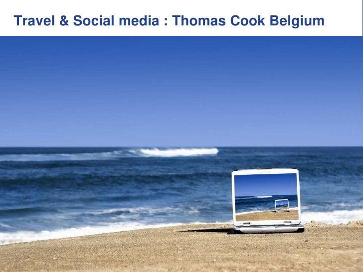 Impact Van Web Op Travel : Case ThomasCook.be