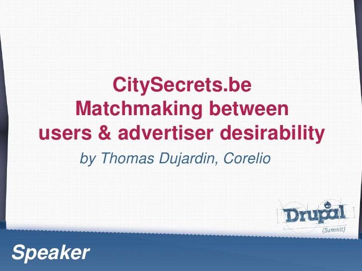 Thomas Dujardin, Citysecrets