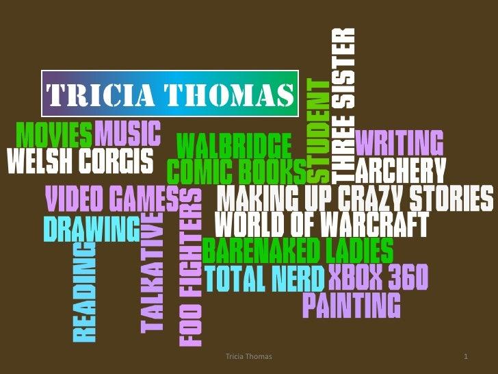Thomas Get Acquianted Presentation 1