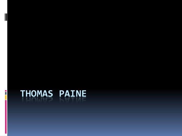 Thomas Paine1