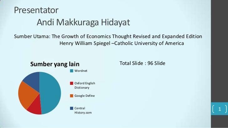 Presentator     Andi Makkuraga HidayatSumber Utama: The Growth of Economics Thought Revised and Expanded Edition          ...