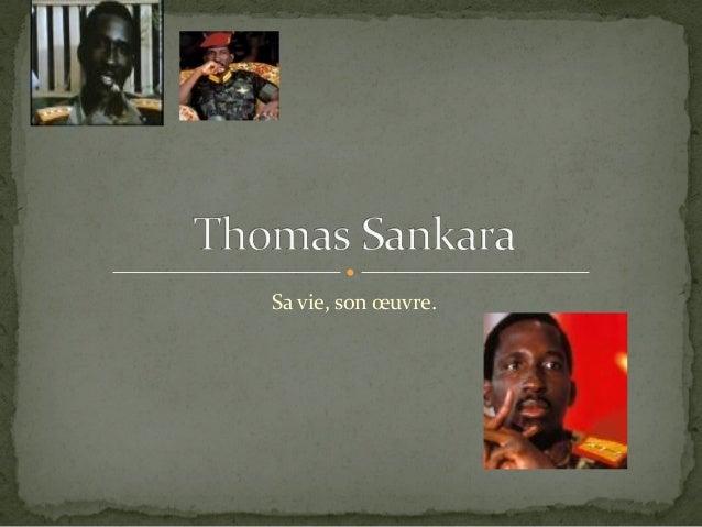 Thomas sankara presentation