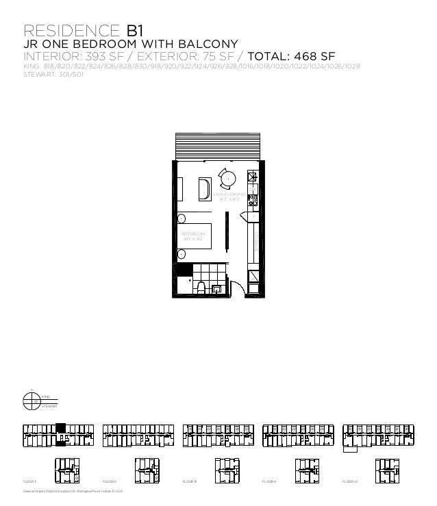 Thompson residence by freed developments 621 king st for 1 king west floor plans