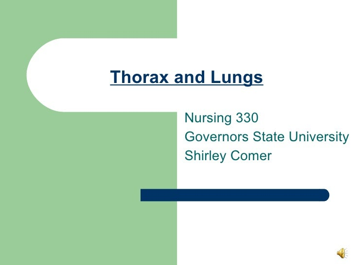 Thorax And Lungs.330.Ss.09