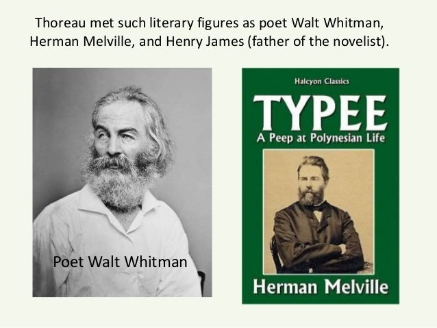 a comparison of henry david thoreaus and herman melvilles writings Their neighbors in concord included emerson and henry david thoreau  herman melville's  writings of nathaniel hawthorne from c-span's american.