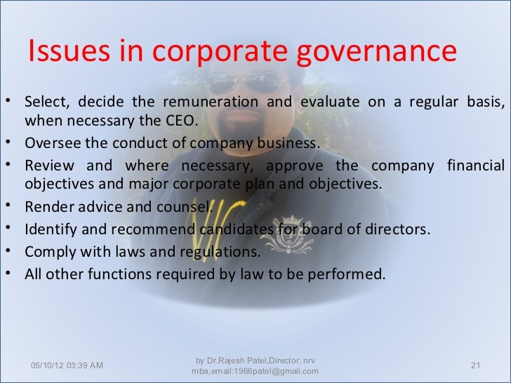 corporate governance in india case study