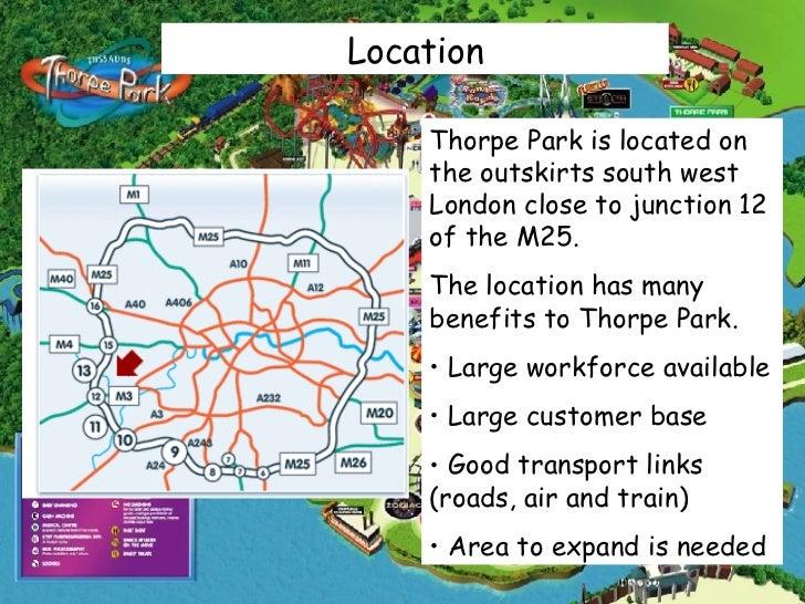 thorpe park task 1