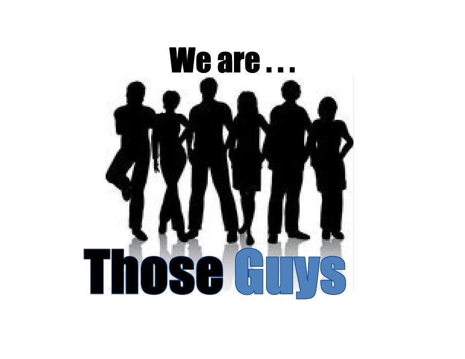 We are . . .