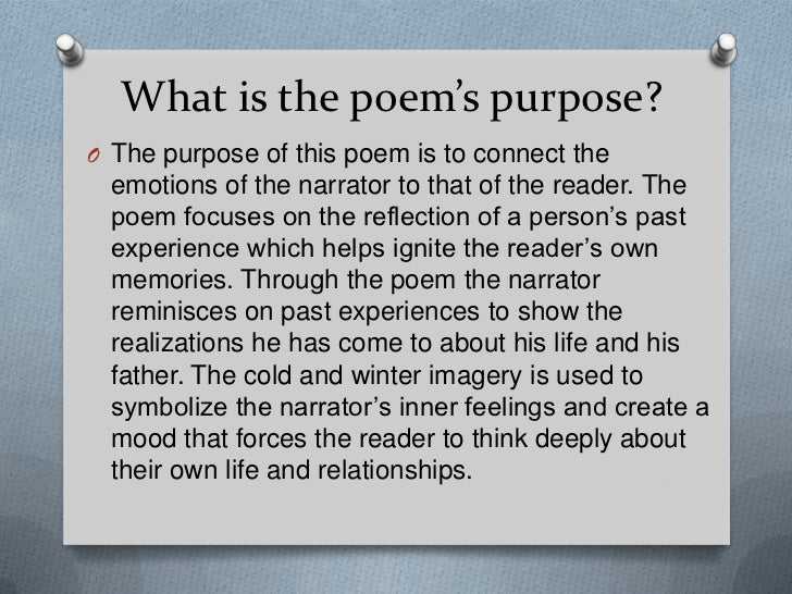 poem 3 those winter sundays by Robert hayden's those winter sundays and theodore roethke's my papa's waltz are widely-anthologized, contemporary american poems both poems also are featured in the edsitement-reviewed library of congress's favorite poem project, indicating americans' love for these two powerful and moving poems about father-son.