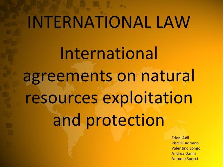 [International Law] - International Economic Law
