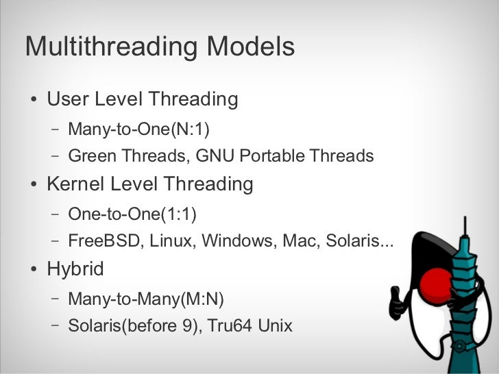 Hybrid Level Threads User Level Threading