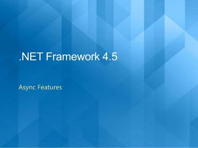 Threading net 4.5