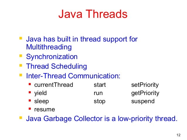 java resume multithreading 28 images đa luồng trong