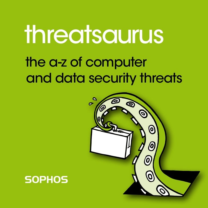 threatsaurusthe a-z of computerand data security threats