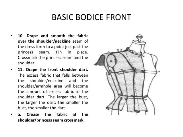 Seam of The Dress Form to