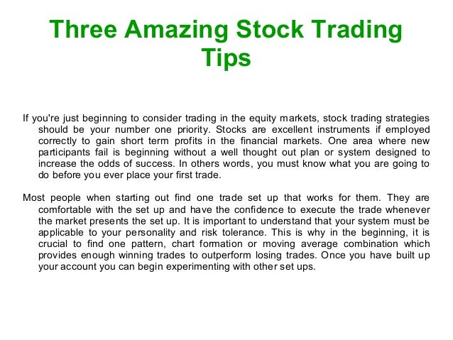 Option trading nse tips