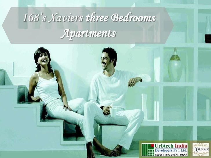 Urbtech 168's Xavier Noida; Three bedrooms apartments