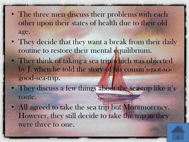 three men in a boat a summary
