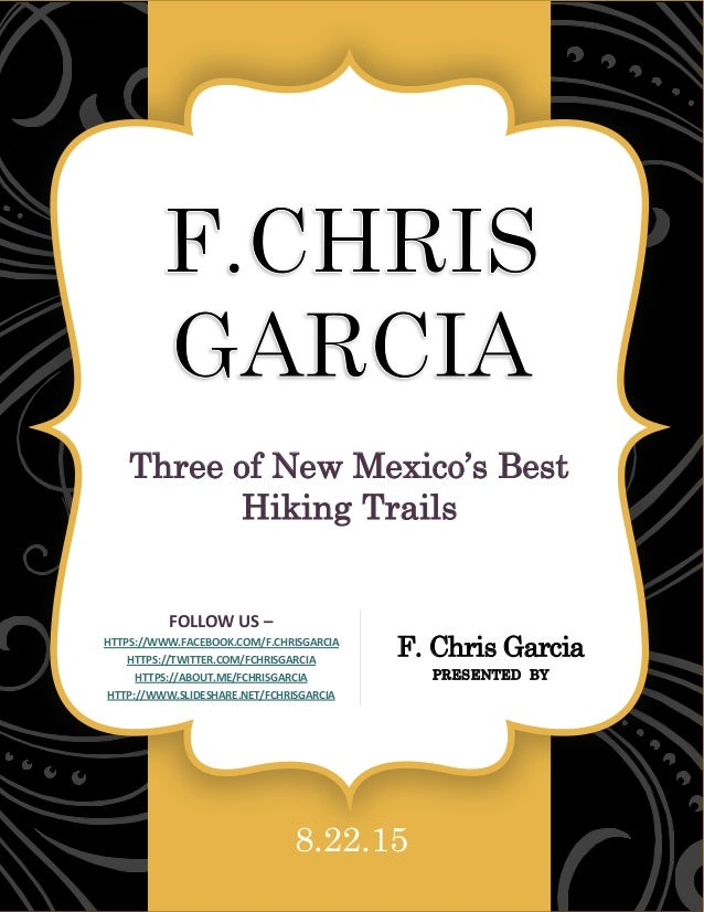 Garcia Mexico  city pictures gallery : Chris Garcia – New Mexico Native