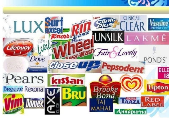 Unilever Products Three popular products of hindustan unilever ltd