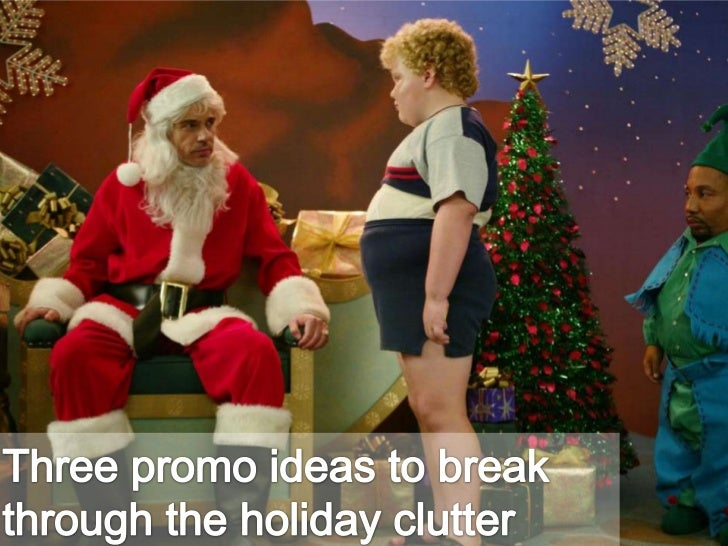 Three promo ideas to break through the holiday clutter