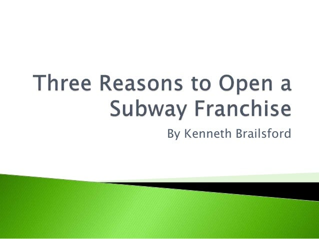 why franchise why subway Want to purchase a subway franchise learn everything you need to know,  including costs involved, training and support available, and.
