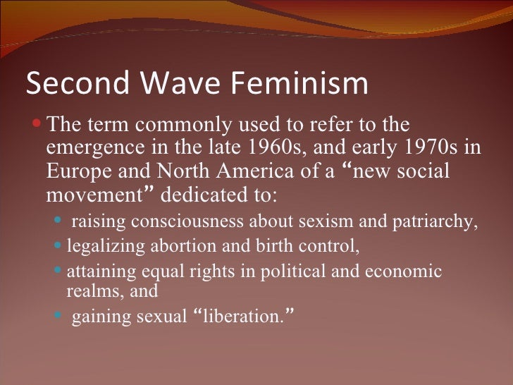 the three waves of feminism Third wave feminism is a new discourse for understanding and framing gender  relations that  or, as rinda ( september 27, 2006, msg 3) notes in her blog.