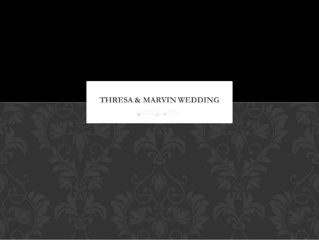Thresa & marvin wedding1