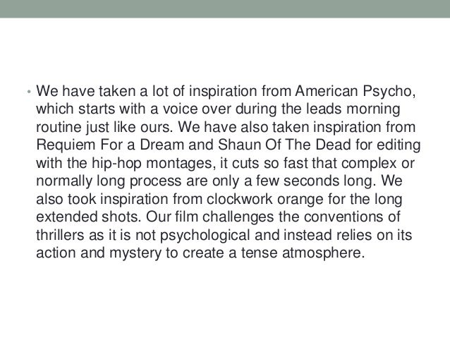 Film evaluation
