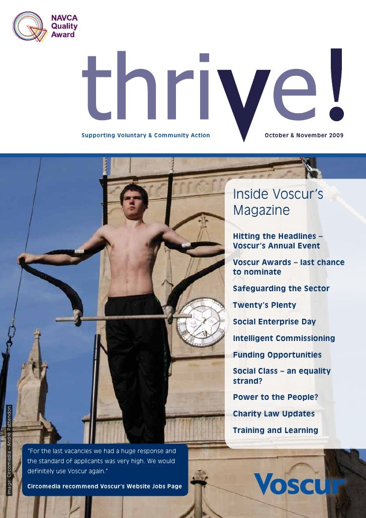 Thrive Oct Nov 09