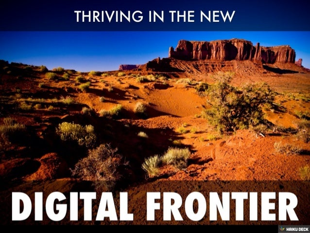 Thriving In The New Social Frontier