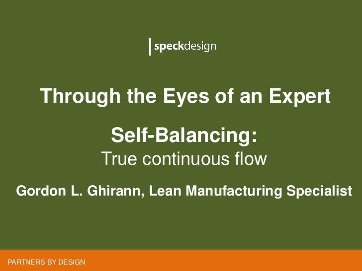 Through the Eyes of an Expert       Through the Eyes of an Expert                     Self-Balancing:                     ...