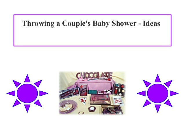 throwing a couple 39 s baby shower ideas
