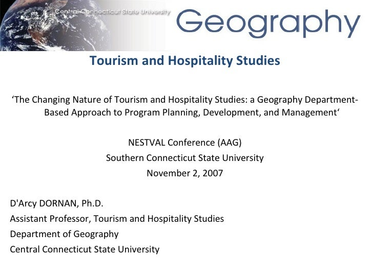 Tourism and Hospitality Studies