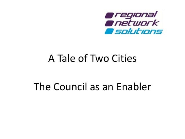 Callum Knowles - RNETSO  a tale of two cities