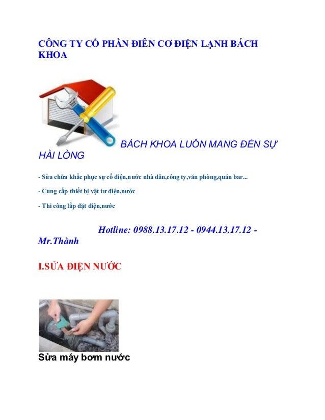 Thợ sửa máy Bơm Nước Ở Hai Ba Trung-Hà Nội.0988131712
