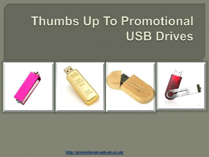 Thumbs up to promotional usb drives