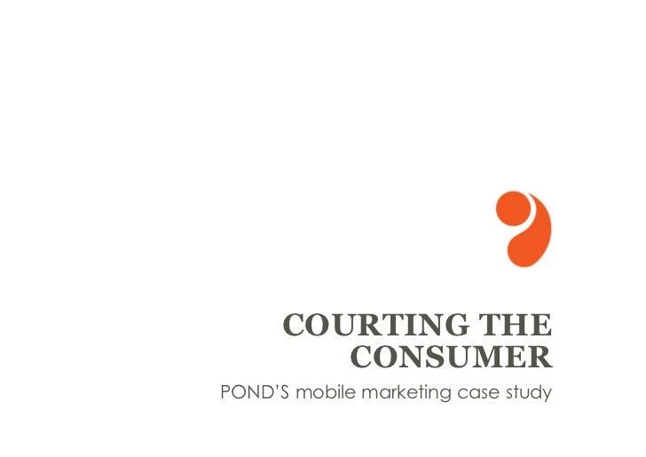 Ponds Mobile Marketing Case Study