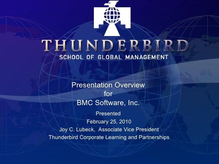 Thunderbird Overview
