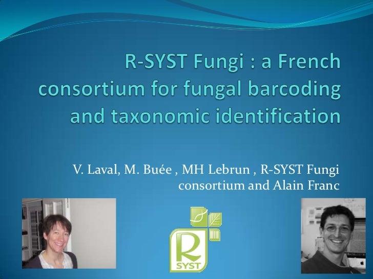 Alain Franc - Algae, Protists & Fungi Plenary
