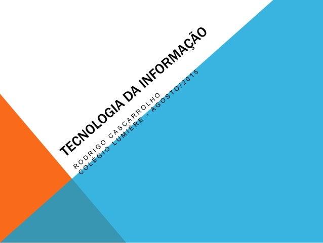 AGENDA - Colégio Lumière - Formação Superior - Cursos de Tecnologia - Vida Acadêmica - Atuação Profissional - Carreira - C...