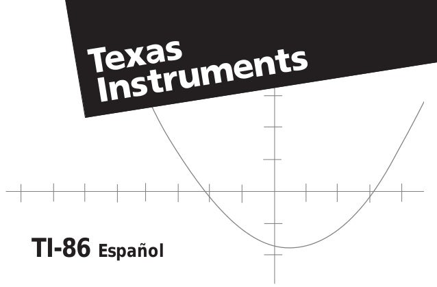 Ti-86 Manual Español