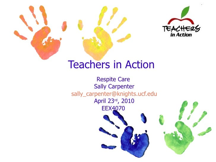 Teachers In Action Respite Care