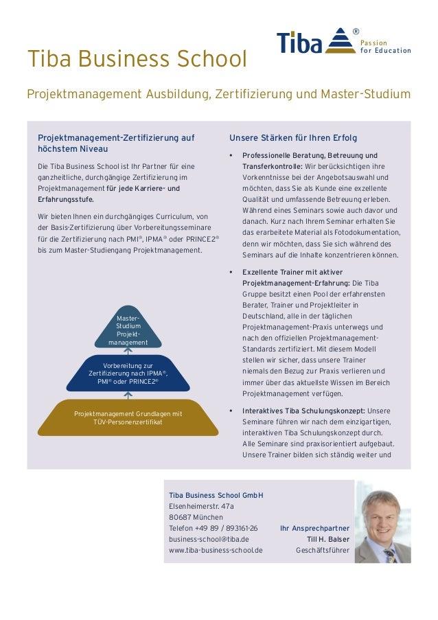 Tiba Business School Unternehmensprofil