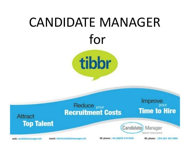 CANDIDATE MANAGER for